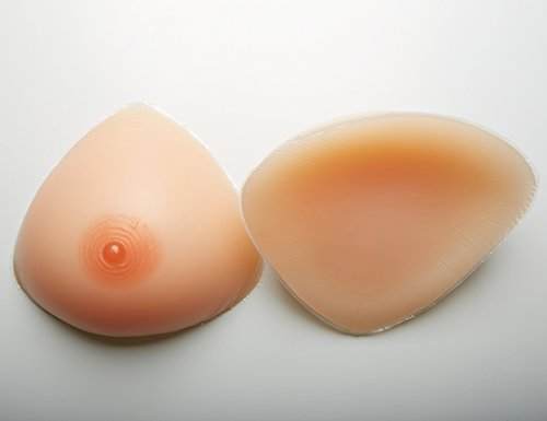 Sotica Silicone Breasts Forms Mastectomy Triangle Shape Brest Enhancer Lifelike Fake Breast for Crossdresser Transgender Mastectomy
