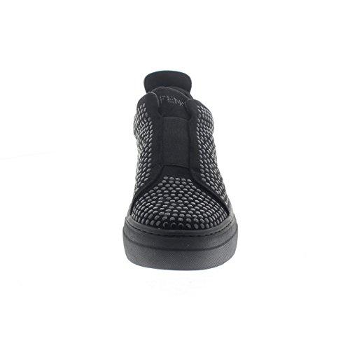 CafÈnoir Sneakers slip on nero zeppa scarpe donna DB922 010 NERO