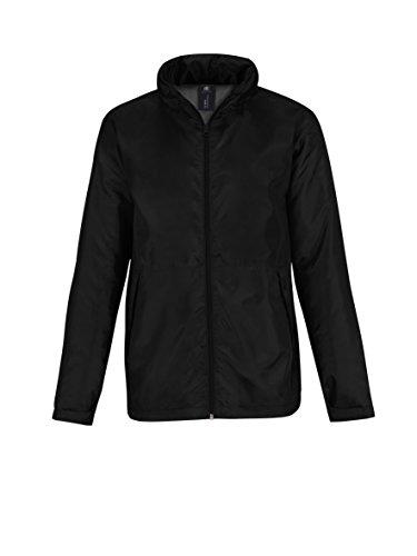 B&C Collecton - Blouson - Homme Black/ Warm Grey Lining
