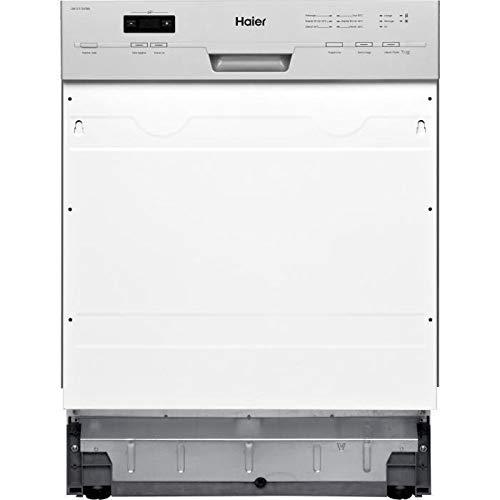 Haier Dw12 T1347bis Lave Vaisselle Encastrable 12 Couverts 47db A Silver Larg 59 6 Cm