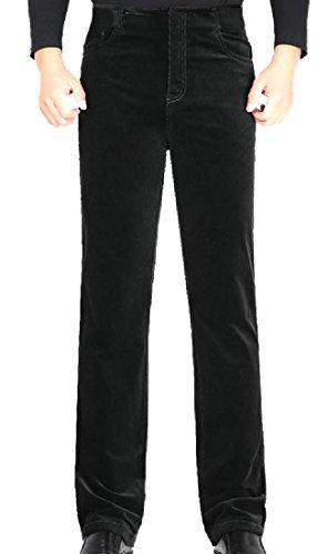 CuteRose Men Corduroy Basic Cotton Straight Thickening Casual Pant 5 4XL Basic Corduroy