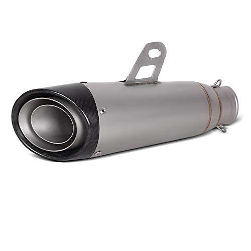 Auspuff RX4 für Yamaha FZS 1000/600 Fazer Schalldämpfer Edelstahl Carbon