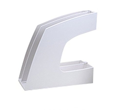 DFHHG® Libro, Soporte Acabado Clip Archivo Estantería Oficina Blanco Azul durable ( Color : #1 )