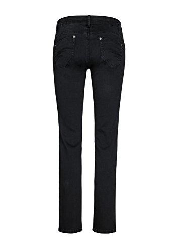 Million X Femme Jeans Victoria push up droite Noir