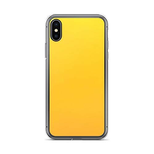 blitzversand Handyhülle Linien Muster Lines kompatibel für LG G3 Gelb Orange Schutz Hülle Case Bumper transparent rund um Schutz Cartoon M1