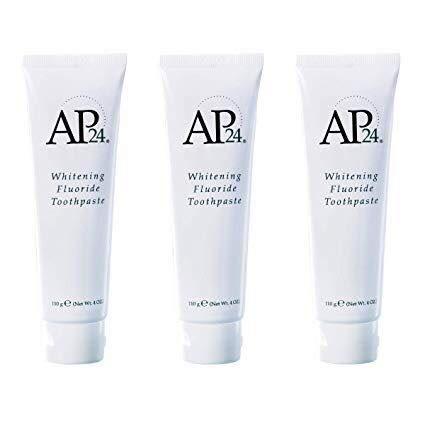 Nu Piel AP 24Blanqueamiento flúor pasta de dientes