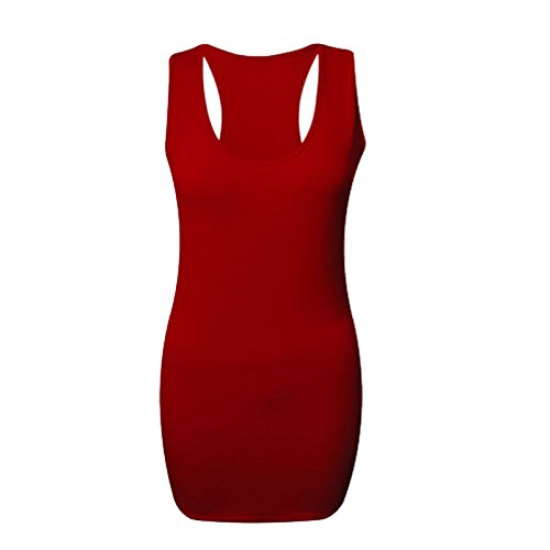 RIDDLEDWITHSTYLE - Débardeur - Femme * Taille unique red