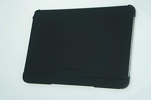 Preisvergleich Produktbild Samsung Folio Schutzhülle Book Cover Case für Galaxy Tab 4 10.0 Zoll - Schwarz - SAMEFBT530BB