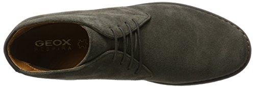 Geox U Brandled e, Stivali Desert Boots Uomo Marrone (Mud)
