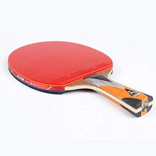 Raqueta Profesional De Padel De Tenis De Mesa - Raqueta De Ping Pong con Estuche De Transporte - Goma Aprobada por La ITTF para Torneos