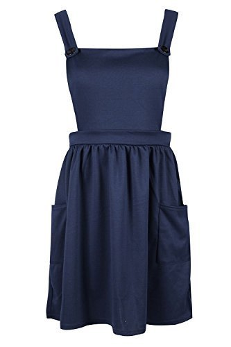 Fashion Star Damen Kleid Marine