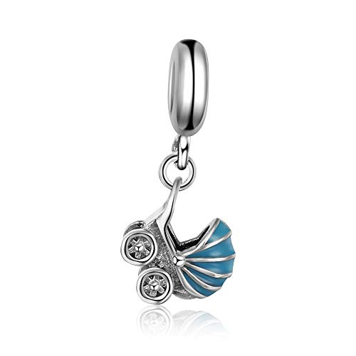 Baby Beförderung Perlen Baumeln charmauthentic 925Sterling Silber für Pandora & alle Europäische Charm-Armbänder und Ketten