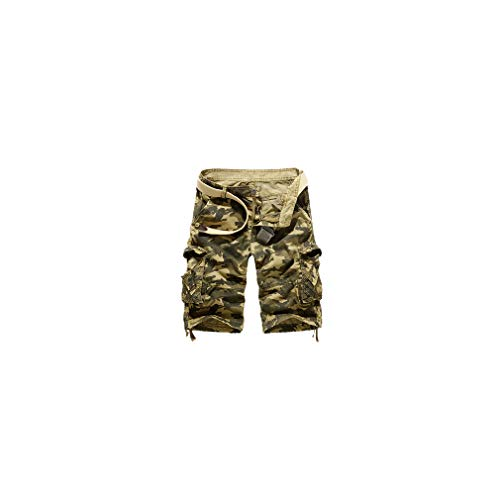 American Eagle Button Fly Shorts (Camouflage Loose Men Summer Military Camo Pants Homme Cargo Shorts Us Size)