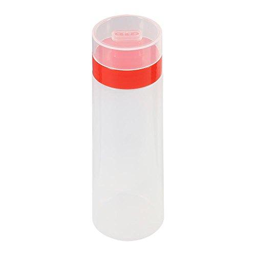 Delaman Soße-Flaschen Plastikquetschen-Zufuhr-Flasche mit 4 Düsen, lecksichere Kappen für...
