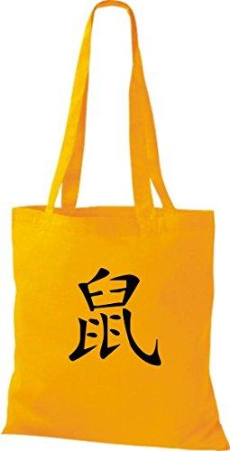 ShirtInStyle Stoffbeutel I LOVE SAARBRÜCKEN Deine Stadt diverse Farbe yellow