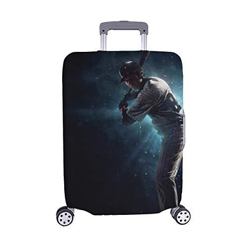 Professionelle Baseball-Spieler Muster Spandex Trolley Reisegepäck Beschützer Koffer Abdeckung 28,5 X 20,5 Zoll -