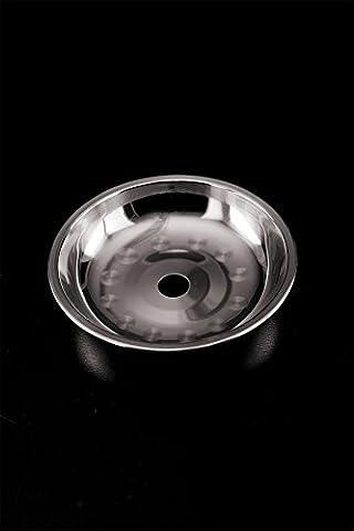 Aschelteller Edelstahl klein 12,5cm