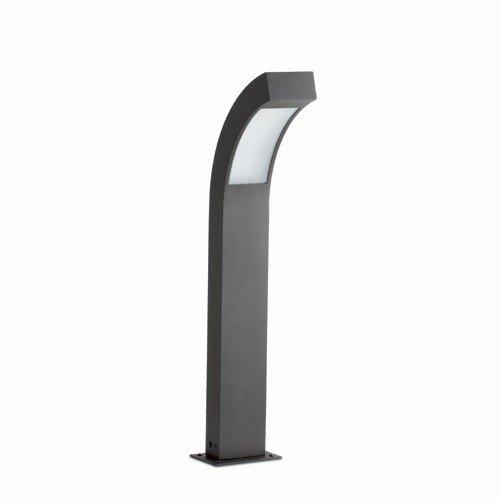 FARO 7O631 - NEO lampada da esterni paletto in alluminio grigio scuro h 60 cm