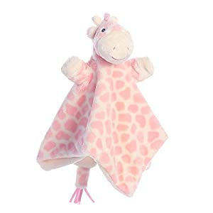 Aurora Gigi - Manta para bebé con diseño de Jirafa, Color Rosa