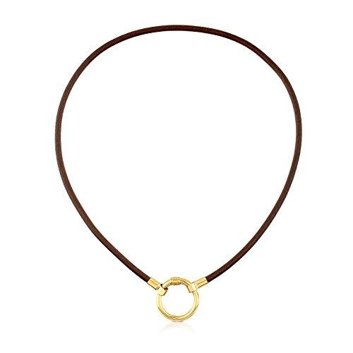 TOUS Collar Gargantilla HOLD mujer Plata vermeil 18