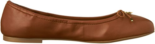 Sam Edelman Damen Felicia Ballerinas Brown (Saddle Nappa)