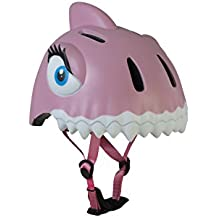 Crazy Safety Aqua The Dashing Shark Casco para Bicicleta niña, Rosa, ...
