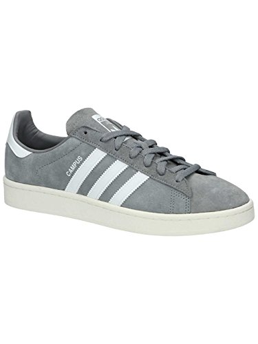 adidas Herren Campus Sneaker Grau (Grey Three/Footwear White/Chalk White)