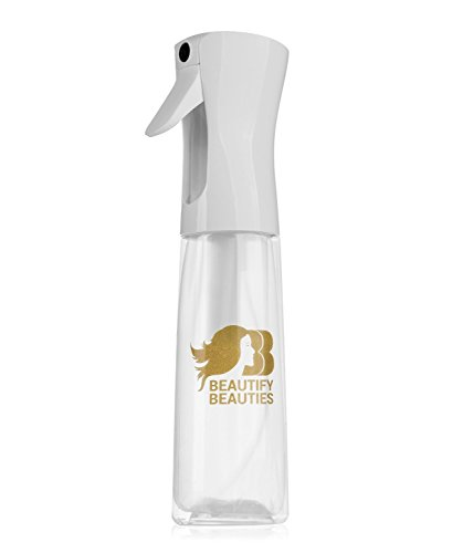Beautify Beauties Flairosol Spray Bottle - 10 Oz. Empty Clear Bottle with a Hair Comb by Beautify Beauties
