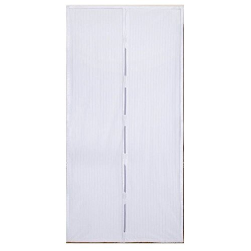 Tenda zanzariera magnetica standard colore bianca 120x230 euronovità en-23797