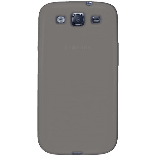 Amzer AMZ93950 Skin Jelly Case for Samsung Galaxy S3 Neo and S III GT-I9300 (Gray)  available at amazon for Rs.224