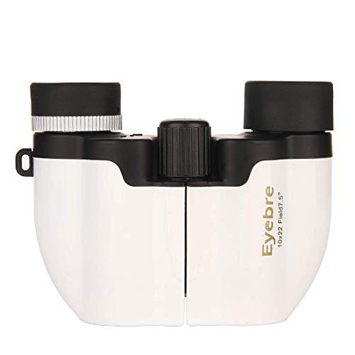 LLG-STWYJ Mehrfarbiges Fernglas 10X22 HD Pocket Concert tragbares Display-Teleskop, geeignet für...
