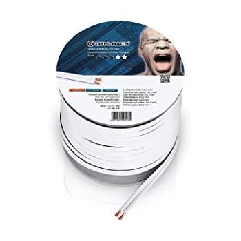 Oehlbach Speaker Wire SP-40 - Stereo HI-FI: Amazon.de ... on