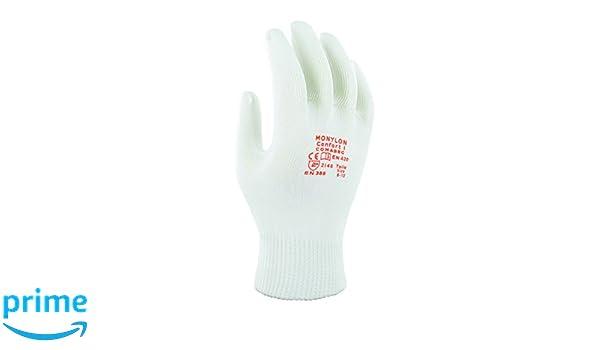 Sacchetto di 12 Paia Taglia 7 Bianco Protezione Meccanica Ansell Picolon Confort Guanto Multiuso