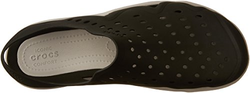 Crocs Swiftwater Wave, Scarpe Brogue Uomo Black/Pearl White