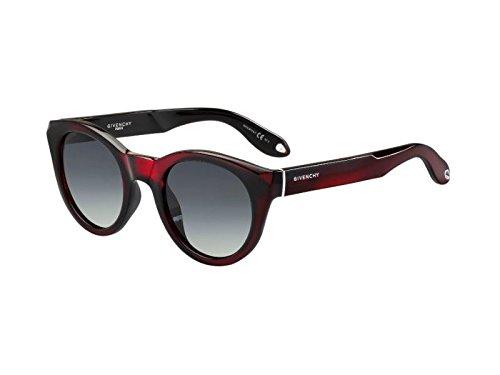 Givenchy gv 7003/s hd pzz, occhiali da sole donna, rosso (brand mirror/grey), 49