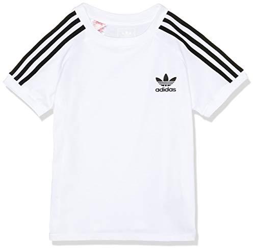 Adidas j clfrn teemaglietta bambino, bianco, 140