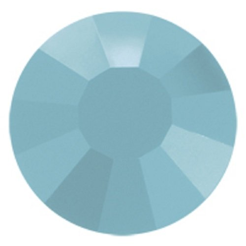 Türkise Hotfix 1440 Preciosa Tschechische Kristalle 20ss Viva12 zum Aufbügeln, SS20, 5 mm