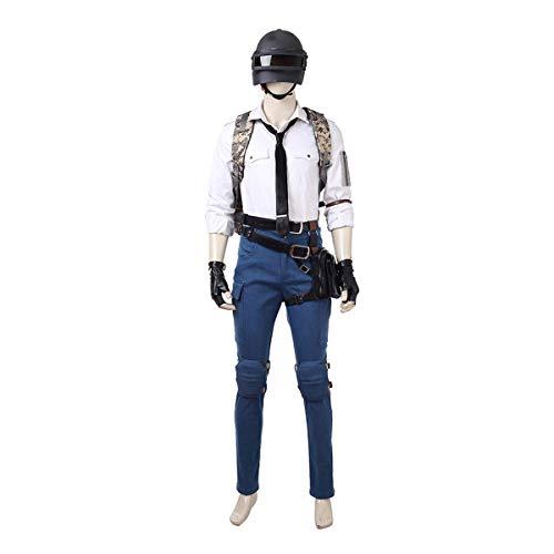 QWEASZER Ballerspiel 1: 1 Kostüm Weißes Hemd Deluxe Edition Cosplay Kleidung Kostümfilm Kleidung Requisiten Anpassbare - Kostümfilm Kostüm