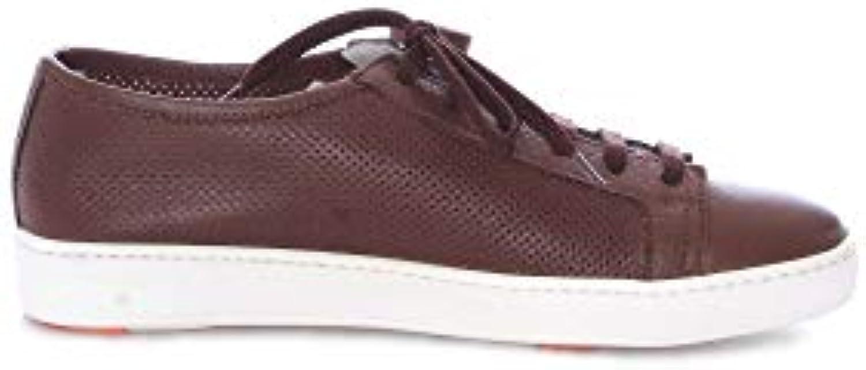 Donna Donna Donna  Uomo SANTONI scarpe da ginnastica Uomo MBCN20440BA6CMIFS40 Pelle Marronee Tecnologia moderna Prezzo ottimale Molto pratico | In Uso Durevole  af90e3