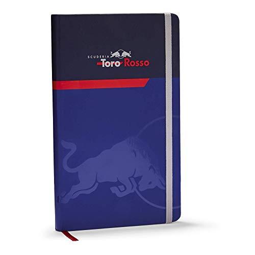 Toro Rosso Reflex Notebook, Blau Unisex One Size Book, STR Red Bull F1 2019 Original Bekleidung & Merchandise