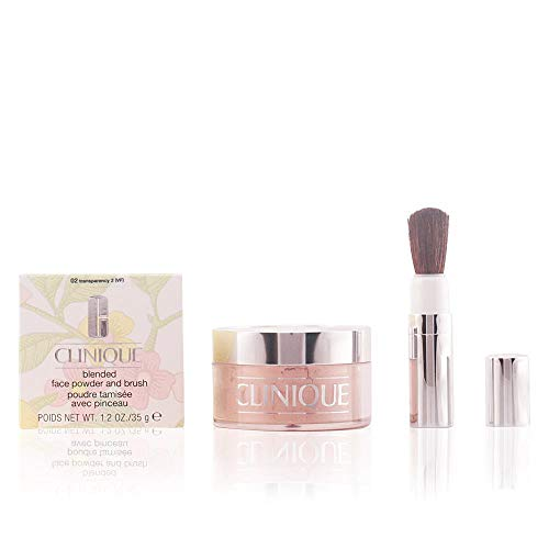 Clinique Blended Face Powder and Brush n. 02 trasparency