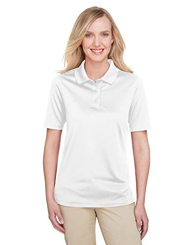 Harriton Ladies' Advantage Snag Protection Plus Polo - WHITE - 2XL -