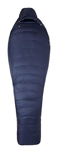 Marmot Unisex-Adult Phase 20 Mumienschlafsack, Ultra-Leichter und Warmer Daunenschlafsack, 850er Gänsedaunenfüllung, ideal zum Camping und Trekking, Arctic Navy, Normal: 183 cm