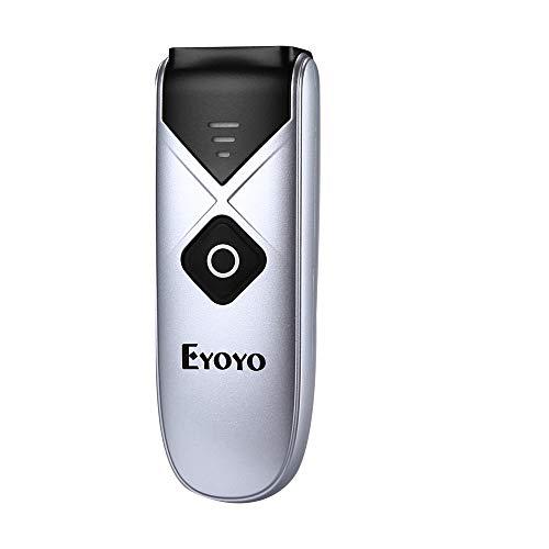 Eyoyo Escáner de Código de Barras,Mini 1D CCD con USB Cable/Bluetooth/ 2.4G Inalámbrica Conexión...