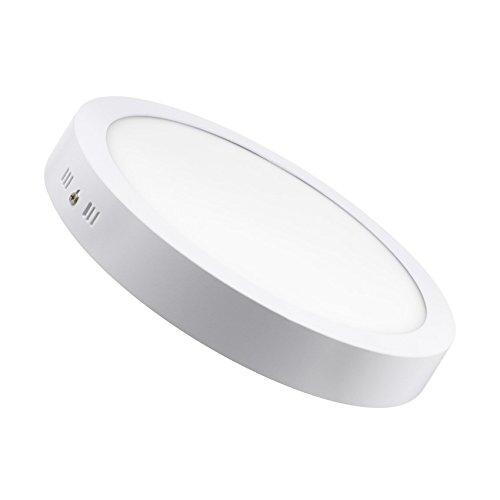 Plafón LED Circular 24W Blanco Neutro 4000k-4500K...