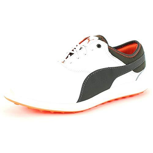 Puma Ignite Golf Men Golfschuhe white leather 188679 06,...