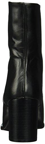 Bianco Inn. Pointy Boot Jja16, Bottines à doublure froide femme Noir - Schwarz (10/Black)