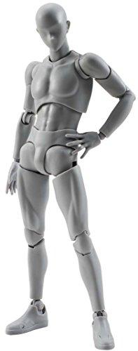 S.H.Figuarts Male Gray Set Ver. Action Figura