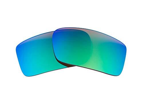 LenzFlip Polarisierte Ersatz Linsen für Oakley Gascan-Mehrere Möglichkeiten, Herren, Gascan, Brown Polarized w/Green Mirror
