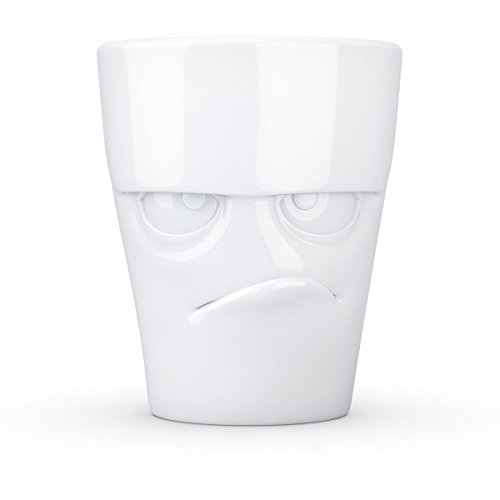 Fiftyeight t018101 grummelig Mug en Porcelaine 12 x 10 x 10 cm Blanc